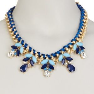 •Blossoming Blues• Statement Necklace